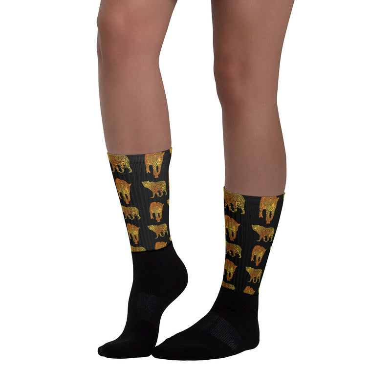 Butterflyed Art - Leopard Socks - Butterflyed