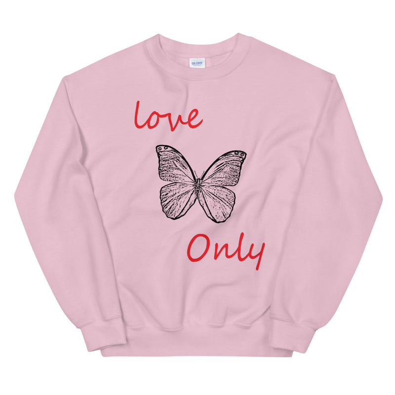 Butterfly Love Only Sweatshirt