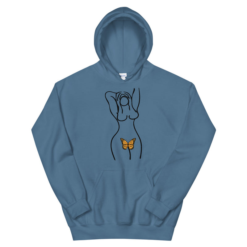 Monarch Butterfly Woman Hoodie