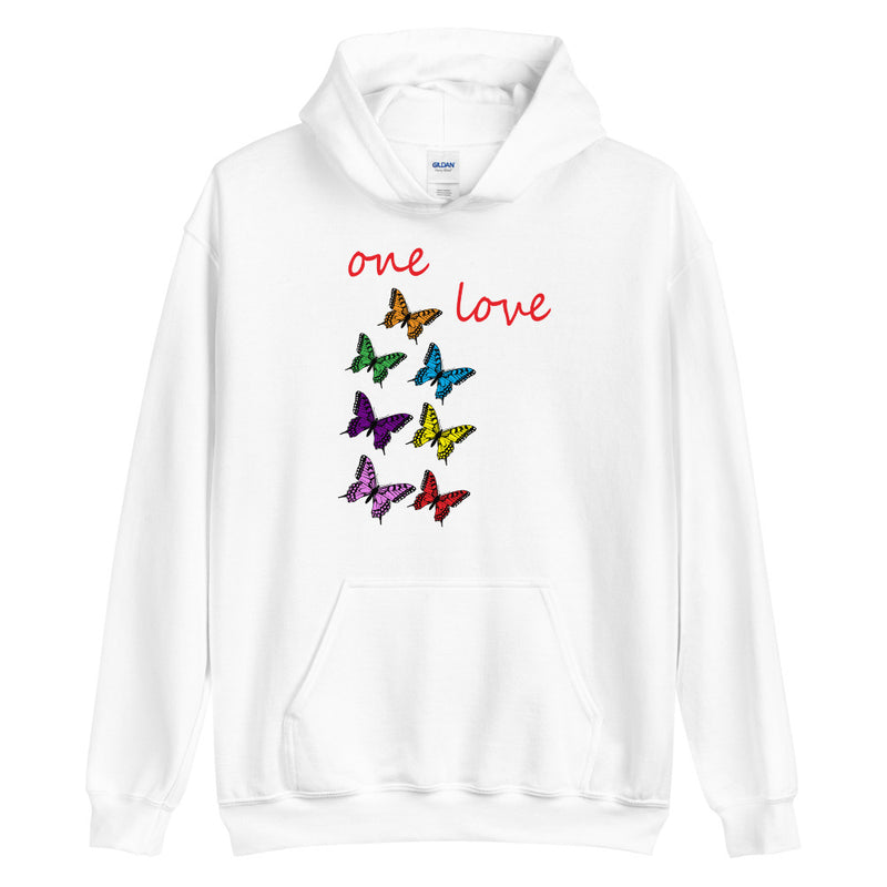 Butterflyed Love - One Love Hoodie - Butterflyed