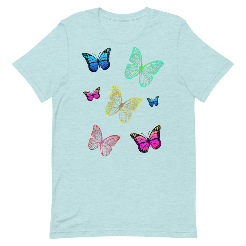 Multi-Color Butterflies T-Shirt