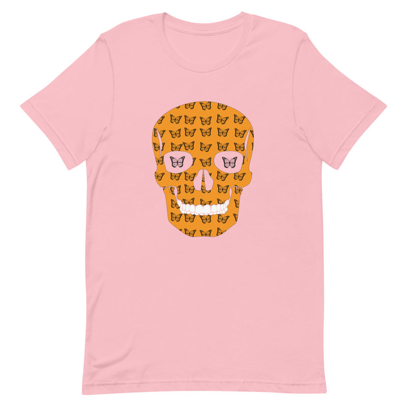 Butterfly Art - Skull T-Shirt - Butterflyed