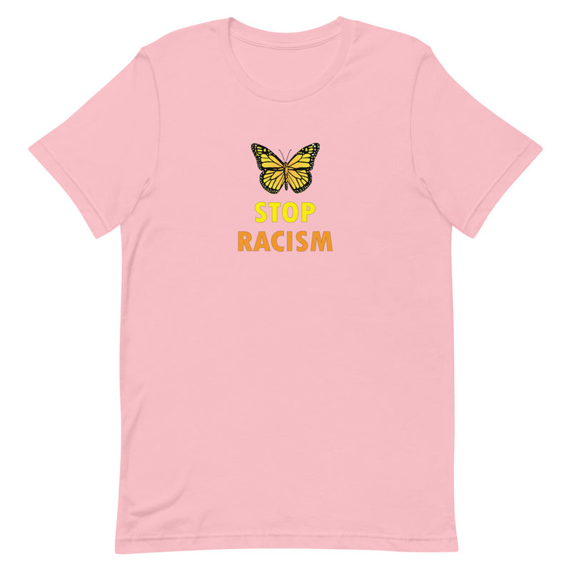 Monarch Butterfly Stop Racism T-Shirt