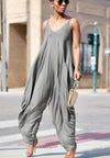 Loose Casual Fashion Jumpsuit CX000-Jumpsuits-pinkychloe