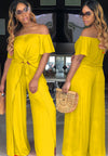 Early Autumn Women'S Wish Explosion Models Loose Solid Color Split Sexy Suit-Jumpsuits-pinkychloe