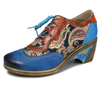 Mosaic European Block Printed Single Shoe-Shoes-pinkychloe