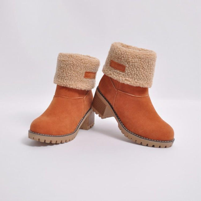 Winter Warm Snow Boots-Shoes-pinkychloe
