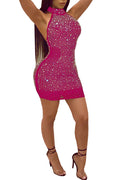 Halter Halter Sexy Dress-Dresses>Short>Sexy-pinkychloe