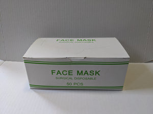 50 Piece Box Disposable Face Mask