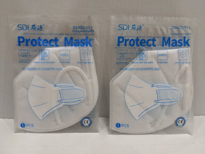 10000 Pack Protective Face Mask w/ Elastic Ear Loops Individually Wrapped