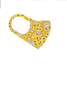 Reusable Face Mask Kids Size Ages 3-8