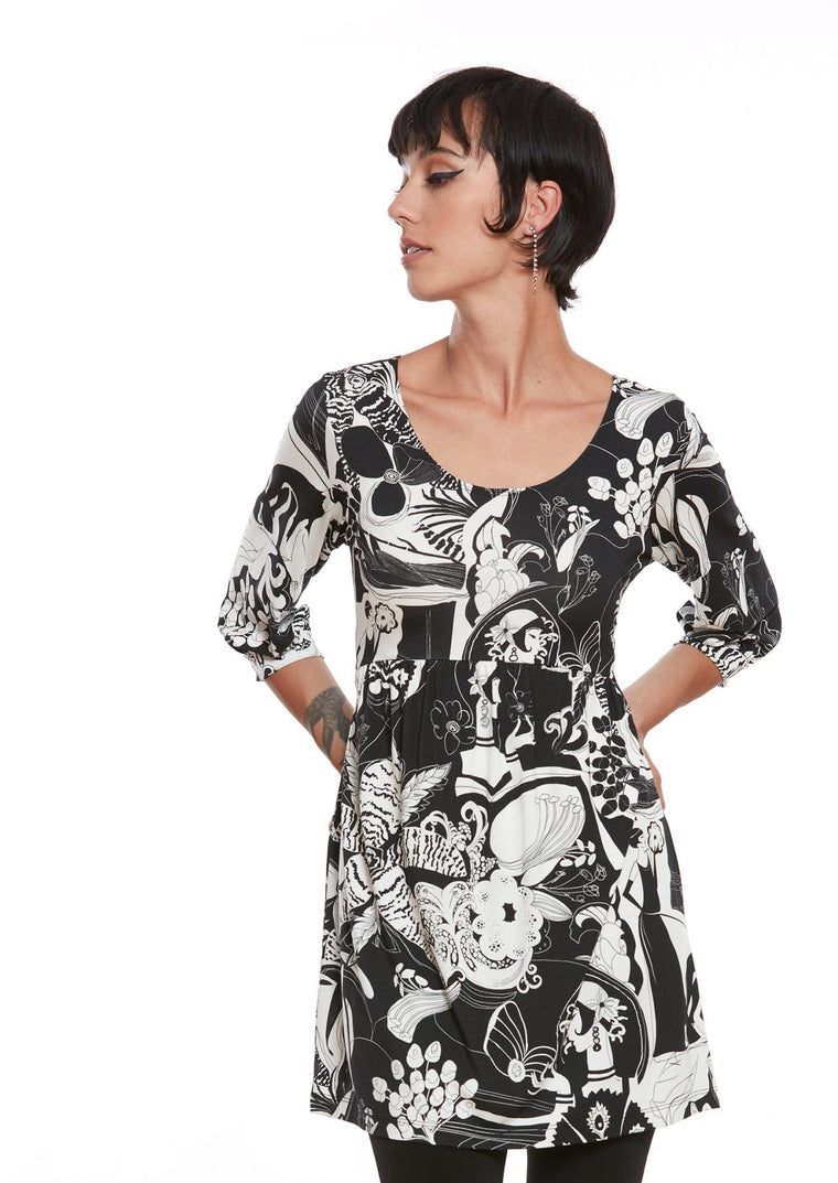 DADA Graphic Tunic