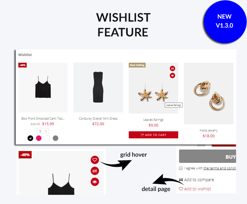 Add wishlist feature