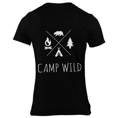"DAMEN T-SHIRT ""CAMP WILD"""