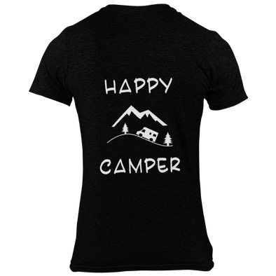 "DAMEN T-SHIRT ""HAPPY CAMPER"""