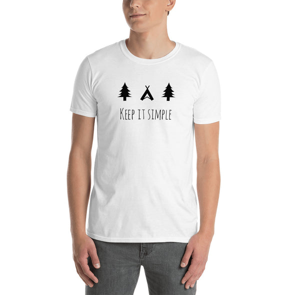 "HERREN T-SHIRT ""KEEP IT SIMPLE"""