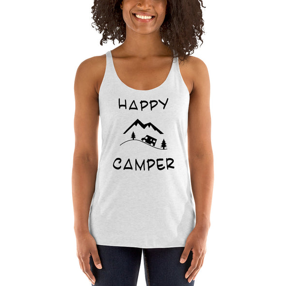 "DAMEN TANK TOP ""HAPPY CAMPER"""