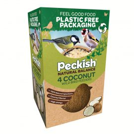 PK Natural Balance Coconut Feeder 4 Pack