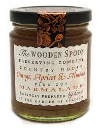 Marmalade Orange, Apricot & Almond (Wooden Spoon) 340g