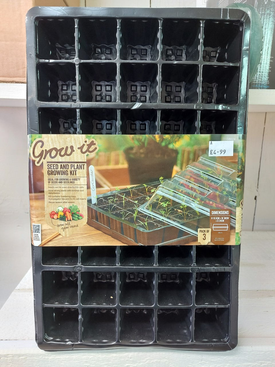 Seed and Plant Growing Kit