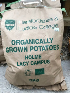 Potatoes by the 5kg bag