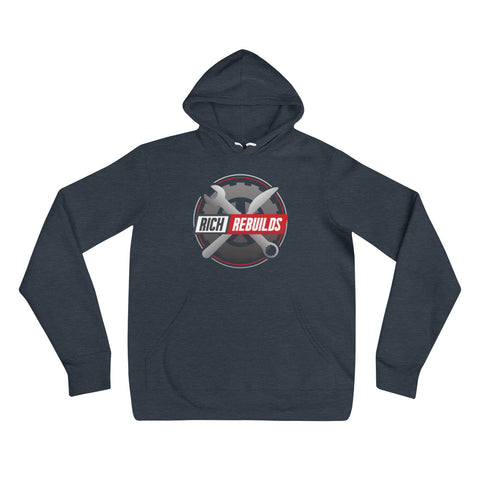 Rich Rebuilds Butter Knife Logo - Unisex hoodie