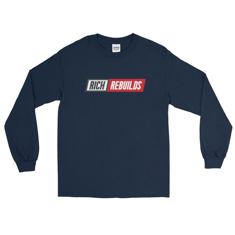 Rich Rebuilds Logo - Long Sleeve T-Shirt