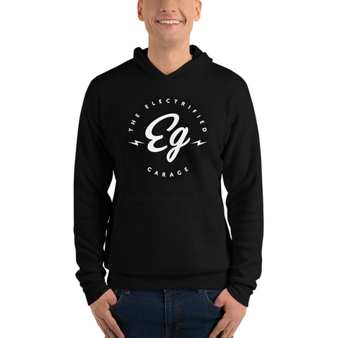 Electrified Garage Large Logo - Unisex hoodie