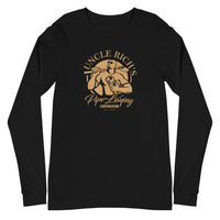 Uncle Rich's Pipe Laying - Unisex Long Sleeve Tee Unisex