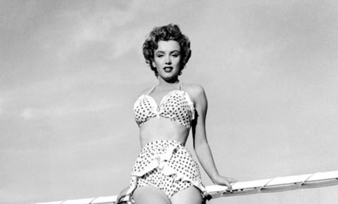 Marilyn Monroe Swimsuits | The History of the Bikinis