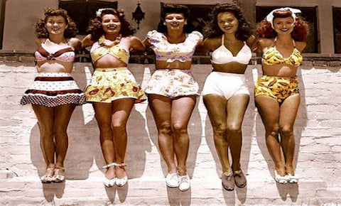 1940's Style Swimsuits | The History of the Bikinis