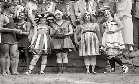 Early 20th Century Swimsuits | The History of the Bikinis