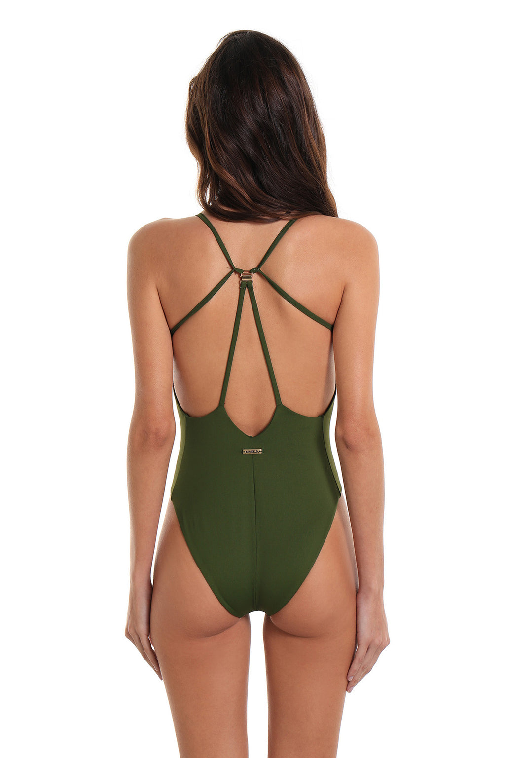 One-Piece Swimsuit Grumari Coastal Green