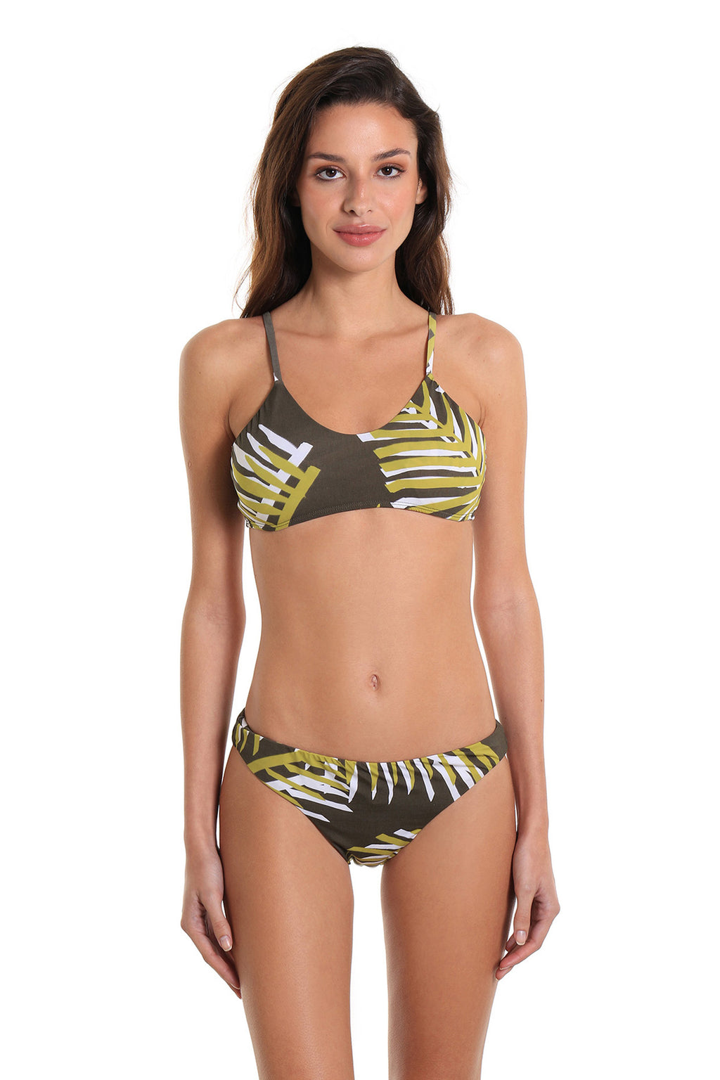 Bikini Two-Piece Swimsuit Arpoador Island Leaf