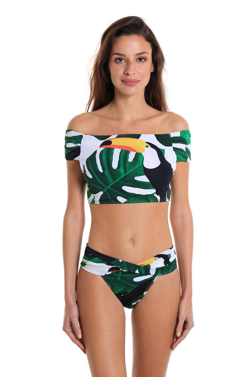Bikini Two-Piece Swimsuit Leblon Toucan