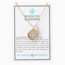 Load image into Gallery viewer, Benedictine Blessing Necklace