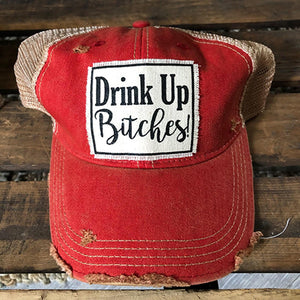 Drink Up Baseball Cap