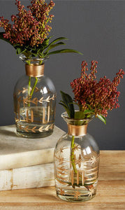 Etched Vases