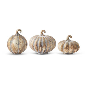 Gold Mercury Pumpkins