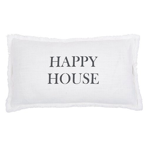 Happy House Pillow