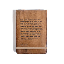 Load image into Gallery viewer, Jim Valvano Leather Journal