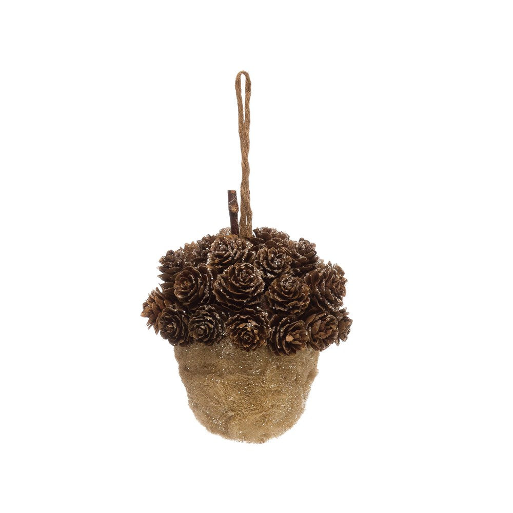 Sisal Acorn/Pinecone Ornament