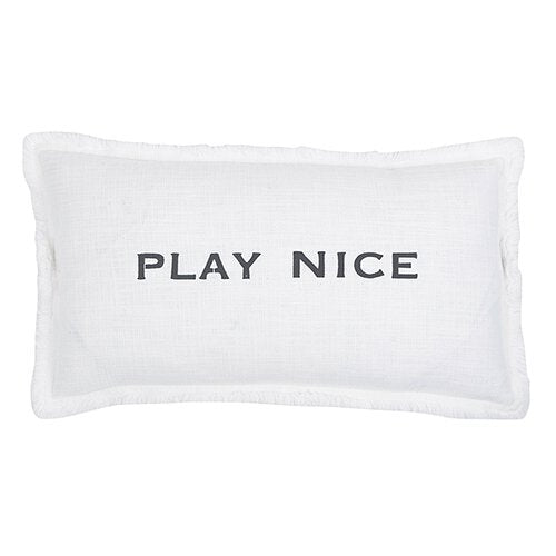 Play Nice Pillow