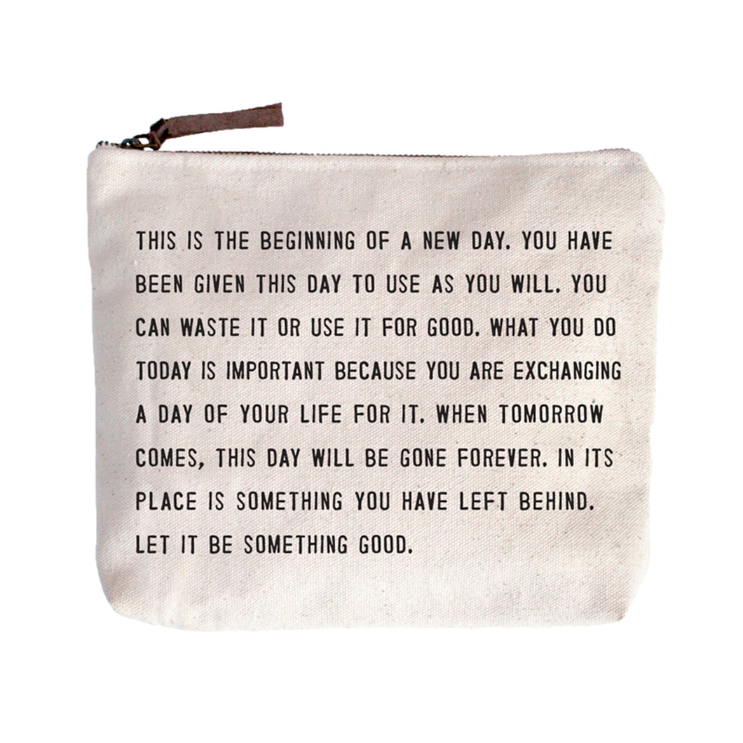 This Is the Beginning Canvas Bag