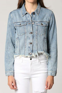 Crop Fitted Jacket