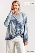 Load image into Gallery viewer, Tie-Dye Round Neck