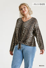 Load image into Gallery viewer, Animal Print V-Neck