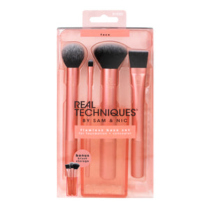 Real Techniques Flawless Base Makeup Brush Set