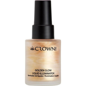 Crown Pro Golden Glow Liquid Face Illuminator & Highlighter