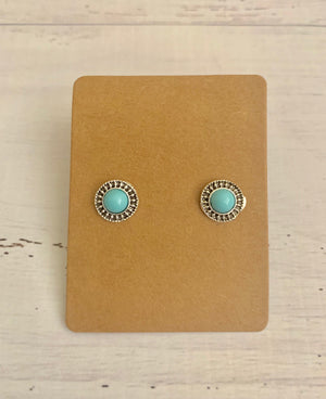 Country Glow Stud Earring Collection Boho Moon
